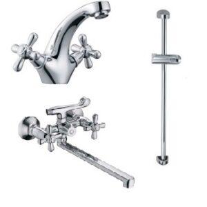 Набор смесителей для ванны Haiba Dominox Standard