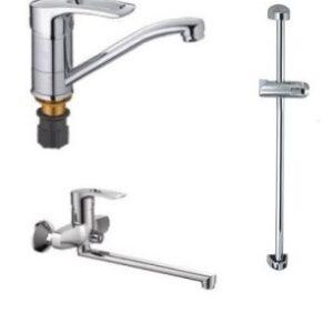 Набор смесителей для ванны Haiba GERMES Standard
