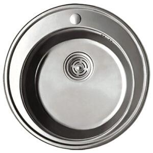 Мойка для кухни HAIBA 510 Decor 0,8мм