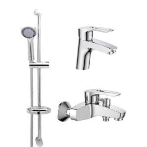 Набор смесителей для ванны HAIBA HANSBERG.SET - 1. HB0900